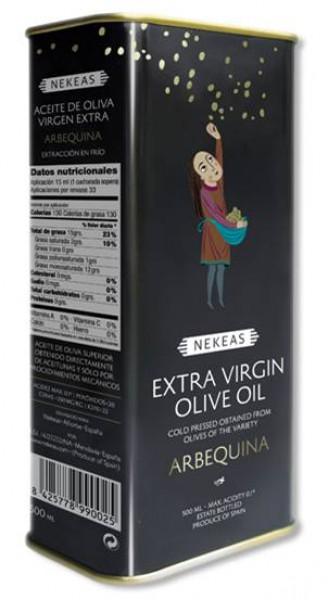 Nekeas Arbequina Extra Virgen Olivenöl 5,0l